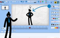 PowToon is a free animation software and PowerPoint alternative. Great for teachers who want to make creative flipped classroom video lessons. Teaching Technology, Educational Technology, Marketing Technology, Marketing Tools, Teaching Tools, Cv Photoshop, Presentation Software, Web 2.0, Web Design