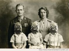 The Raider Family, 1941 - too weird for words!