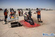 Coma gana la novena etapa del Dakar y sigue líder en motos con amplia ventaja.