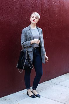 Sarah H. - Relaxed Blazer