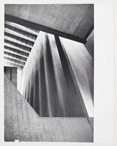 UNESCO Headquarters, Interior / Architect: Breuer-Nervi-Zehrfuss Architectes / Photographer: Lucien Hervé