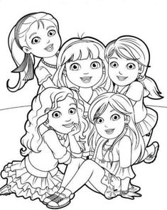 coloring page dora and friends on Kids-n-Fun. At Kids-n-Fun you will always find the nicest coloring pages first! Nick Jr Coloring Pages, Dance Coloring Pages, Whale Coloring Pages, Mermaid Coloring Pages, Pokemon Coloring Pages, Disney Coloring Pages, Coloring Pages To Print, Colouring Pages, Printable Coloring Pages