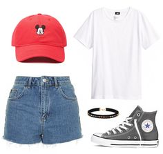 Check out 6 Ways to Style a Disney Hat | classic casual fashion + Mickey Mouse hat | [ http://di.sn/6006B4Zyw ]