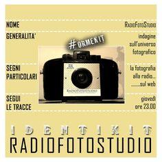 RADIOFOTOSTUDIO - parleremo di immagine, ve la racconteremo con gli occhi della musica
