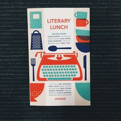 A recent favourite: Literary Lunch brings together mouth-watering extracts from the master chefs of modern literature and creates delectable recipes from some of the finest fiction. We're hungry just looking at it!