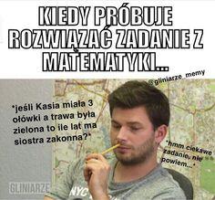 Memy z Gliniarzami XDDDD # Humor # amreading # books # wattpad Wtf Funny, Funny Memes, Jokes, Best Memes, Funny Lyrics, Polish Memes, Some Quotes, Read News, Good Mood