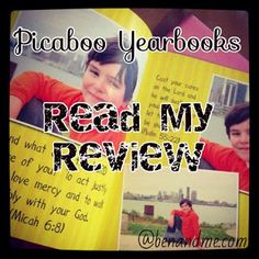 Make a Homeschool Yearbook with Picaboo Yearbooks! #homeschool #hsreviews
