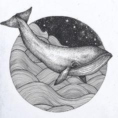Pen Illustration, Ink Illustrations, Desenho Tattoo, Galaxy Art, Sketch Painting, Pen Art, Doodle Art, Art Projects, Animal Prints