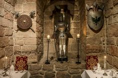 A rare and exciting opportunity to dine in a castle. Edinburgh Scotland, Fine Dining, Candle Sconces, Opportunity, Wall Lights, Castle, Restaurant, History, Travel
