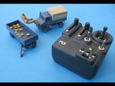 """3D-printed Micro RC Truck """"Unimog"""" and Transmitter (1/87) - YouTube"""