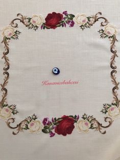 Cross Stitch Rose, Antique Roses, Bargello, Bed Sheets, Antiques, Crochet, Instagram, Videos, Butterfly