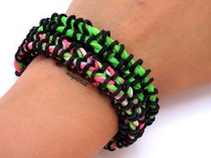 Pulsera de gomitas Cremallera / Zipper bracelet