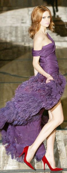 Creative Tonic loves this purple gown