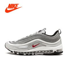 new styles 9813e 30c22 Original New Arrival Authentic Nike Air Max 97 OG QS Women s Breatheable  Running Shoes Sport Outdoor Sneakers 885691 001-in Running Shoes from Sports  ...