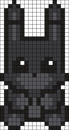 Shadow Bonnie Perler Bead Pattern / Bead Sprite