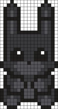 Shadow Bonnie Perler Bead Pattern / Bead Sprite