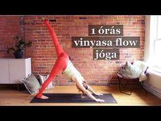 ღ Jógázz otthon! - 60 perces vinyasa flow jóga zenével (magyarul) ღ