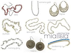 I love Mialisia's Spring line! Do you see something that catches your eye? keriann.mialisia.com