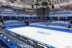 Iceberg Skating Palace. Sochi 2014 Olympic venues.