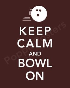 Bowling is SO AWESOME! Everyone should bowl!