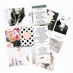Playing along with @studio_calico online crop and this is what I came up with based on the moodboard challenge! So fun. #pocketpages #projectlife #studiocalico #aliedwards
