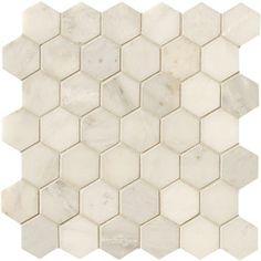 Manufacturer: Crossville Series: Modern Mythology Statuary White Hexagon SKU No.: S002.10202HEX Color/Item: Statuary White