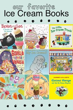 Ice Cream Books for Preschoolers. Our favorite family ice cream books to support the letter i activities for preschoolers. Letter I Activities, Literacy Activities, Summer Activities, Teaching Resources, Teaching Ideas, Toddler Learning, Toddler Preschool, Toddler Activities, Learning Games