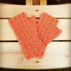 "Crochet fingerless gloves ~ designed and handmade by © Elvira Jane. Check out my Etsy shop for the pattern ""ElviraJaneQ""  #crochet #crochetgloves #fingerlessgloves #fingerlessmitts #crochetpattern #winterisonitsway #diycrafts #yarncrafts #diycrochet  #handmadechristmas #ukdesigner #handmade #handcrafted #crochetdesigner #independentdesigner #crocheter #designer #etsy #etsyseller #etsyshop  #crochetofinstagram #crochetoftheday #madeinuk #madeinsomerset #madewithlove #elvirajanecrochetdesigner"