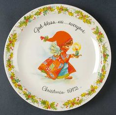Looking for...1972 American Greetings Christmas Plates at Replacements, Ltd