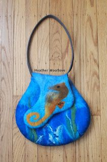 great purse shape - can needle felt any design