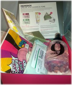 Memebox Special #70 Cleanse & Tone Review #memebox