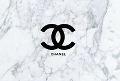 Chanel Logo With A Marble Background This Is Perfect For A Phone Desktop