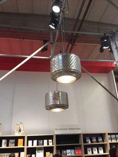 Lamp, hanglamp, duurzaam, hergebruik, wasmachine, wastrommel