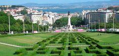 Lisbon's 10 most beautiful views / As 10 mais belas vistas de Lisboa - via Lisbon Lux #Portugal Photo: Parque Eduardo VII, Lisboa