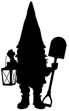 """Gnome in Silhouette "" by Rodney Sloan 
