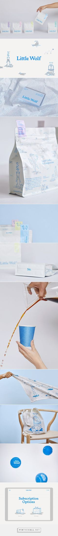 New Branding & Packaging for Little Wolf by Perky Bros — BP&O... - a grouped images picture - Pin Them All