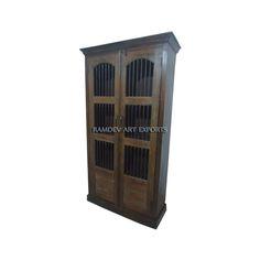 Indian Jali Door Cabinet | Indian Jali Door Almirah | Indian Jali Door Wardrobe | Indian Jali Door Armoire | Indian Jali Door Cabinet