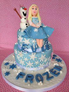 Disney Frozen Personalised 3rd Birthday Cake Sevenoaks Party