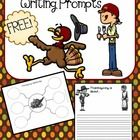 Thanksgiving/Fall Writing Prompts Freebie!