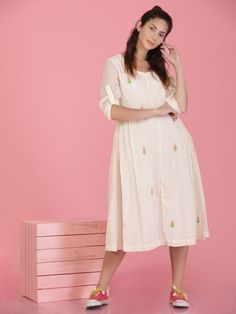 The Loom- An online Shop for Exclusive Handcrafted products comprising of Apparel, Sarees, Jewelry, Footwears & Home decor. White Suits, Western Wear, Flare Dress, Kurti, Tunics, Loom, Bag Accessories, Saree, Women's Fashion