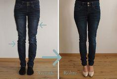 Jeans enger machen