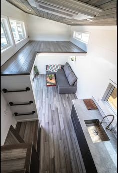 Trailer Swift - Tiny House for Sale in Santa Cruz, California - Tiny House Listi. Trailer Swift - Tiny House for Sale in Santa Cruz, California - Tiny House Listings Tiny House Loft, Best Tiny House, Modern Tiny House, Tiny House Plans, Tiny House Design, Tiny House Stairs, Tiny House Bedroom, Tiny House Storage, Tiny House Trailer