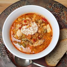 Chicken Paprika Soup | A Palatable Pastime