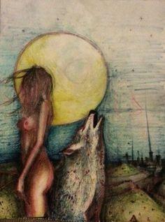 Wild Woman Moon.  WILD WOMAN SISTERHOOD™ #wildwomen #wildmoonwoman #rewild…