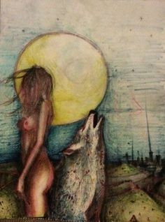Wild Woman Moon.  WILD WOMAN SISTERHOOD™ #wildwomen #wildmoonwoman #rewild…