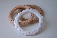 diy polymer clay coral bracelets