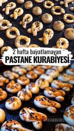 2 Hafta Bayatlamayan Pastane Kurabiyesi – Nefis Yemek Tarifleri – Kurabiye – The Most Practical and Easy Recipes East Dessert Recipes, Dinner Recipes, Subway Cookie Recipes, Best Bakery, Snacks Für Party, Food Platters, Arabic Food, Turkish Recipes, Food Blogs