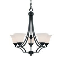 View the Capital Lighting 4025-114 Traditional / Classic 5 Light Chandelier from the Towne & Country Collection at LightingDirect.com. $159