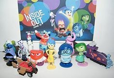 Disney Inside out Movie Figure Set Toy of 12 W/ 5 Emotions Bing Bong Jangles for sale online Inside Out Movie Characters, Bing Bong Inside Out, Disney Pixar, Disney Inside Out, Thing 1, We Movie, Activity Sheets, Classic Cartoons, Rainbow Unicorn