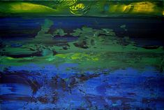 Sunset in Rio is a new utopia abstract artwork by Gaya in the genre of abstract expressionism and spirituality with seascapic view of Rio.
